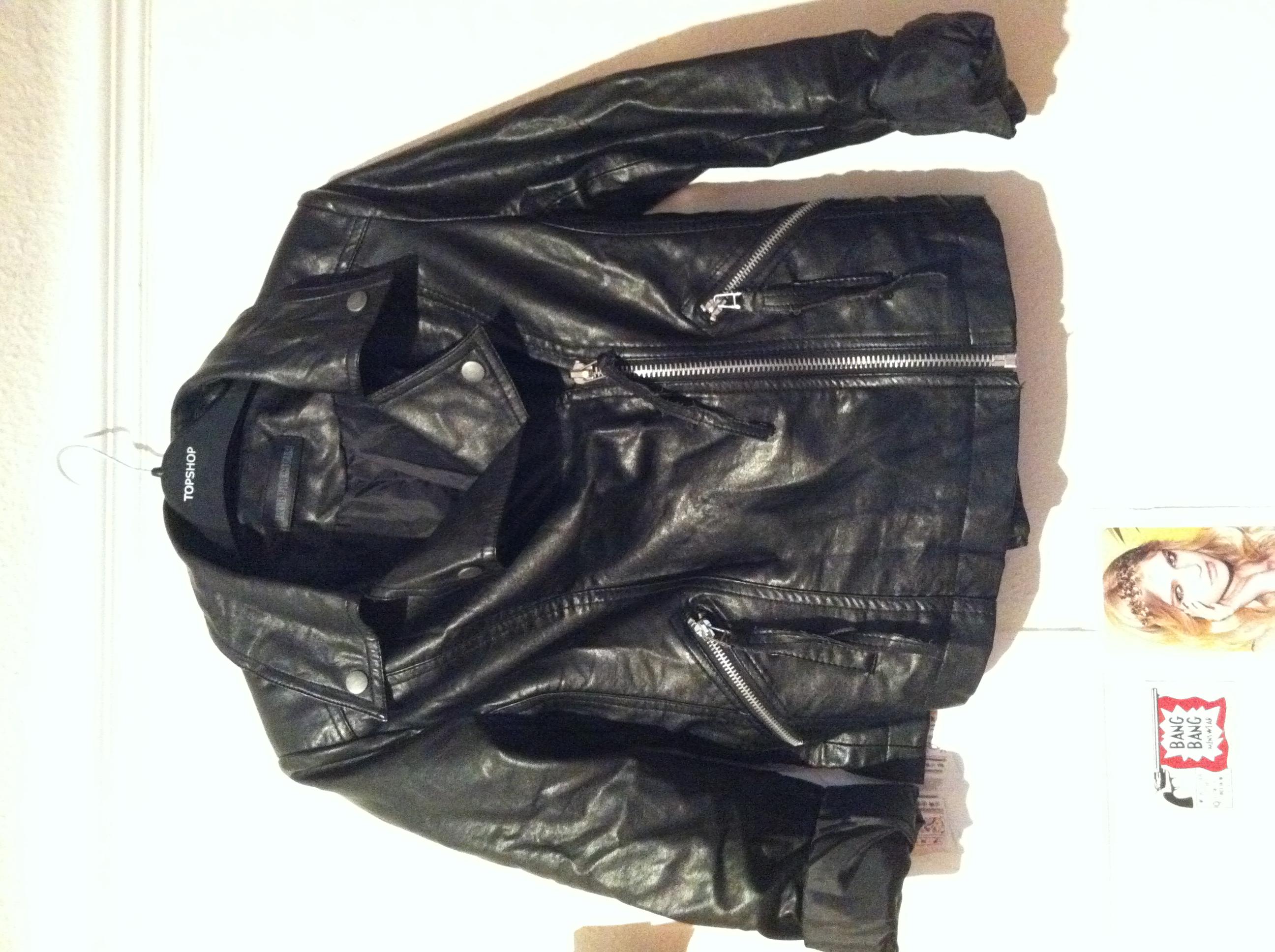 Leather jacket diy - Jacket Pre Spraying